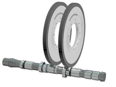 Camshaft Grinding and Vit Cbn Wheel