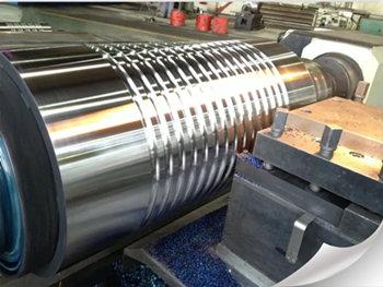 CBN inserts processing cast iron rolls